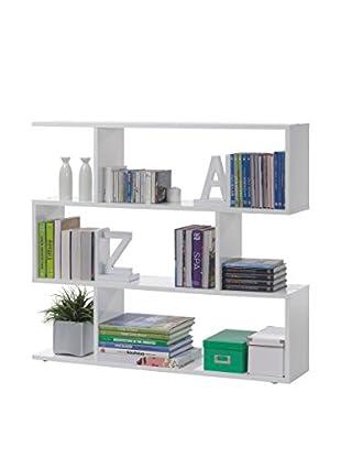 Librería Kafka A5 Blanco