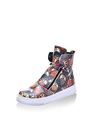 Los Ojo Hightop Sneaker Hendy