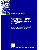 Gewinnkonzeptionen und Erfolgsdarstellung nach IFRS: Analyse der direkt im Eigenkapital erfassten Erfolgsbestandteile