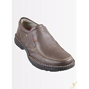 Lee Cooper Men LC 443 Brown Formal Shoes