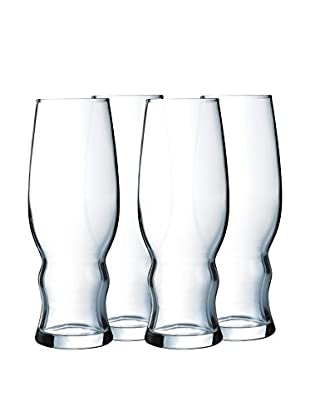 Arc International Set of 4 Medford 16-Oz. Craft Brew & Pilsner Glasses
