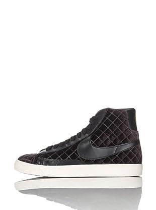 Nike Sneaker Wmns Blazer Mid Textile (Schwarz)