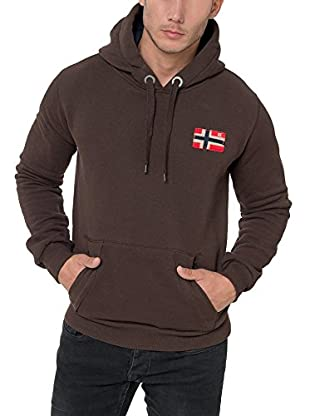 GEOGRAPHICAL NORWAY Kapuzensweatshirt Fondant