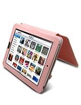Mivizu iPad Pink Napa Leather Folio