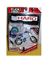 "Flick Trix Haro Fingerbike ""Freestyler"" Retro Bmx- Blue/green"