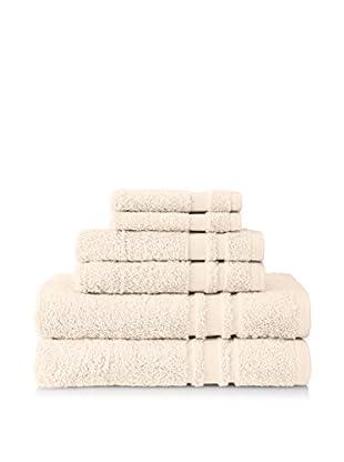 Baltic Linen Oversize 6-Piece Towel Set, Ivory