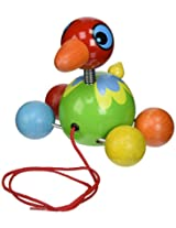 Vilac Pull Along Toy, Island Bird