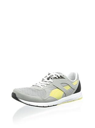 PUMA Men's Future R698 Lite Sneaker (Limestone Gray/Auror)