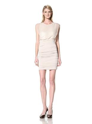 Marc New York Women's Ruched Skirt Dress (Cream)
