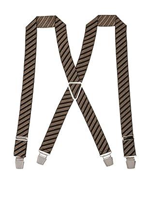 Ortiz & Reed Hosenträger Brown Elastic Braces