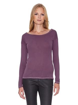 Mila Brant Camiseta Opale (Púrpura)