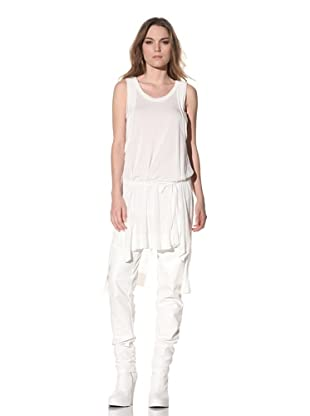Ann Demeulemeester Women's Belted Tunic (Off-White)