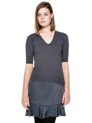 Stefanel Shirt (Dunkelgrau)