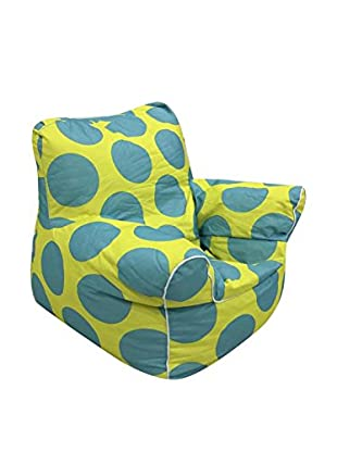 Evergreen House Sillón Baby Amarillo/Azul