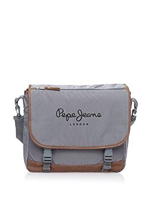 Pepe Jeans Bolsa messenger Oxford Gris