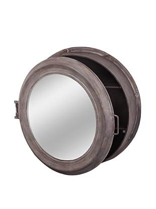 Mercana Beecher Mirror Cabinet, Mirror/Gray