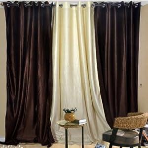 Handloom Hub Eyelet Door Curtain 7 feets (1 Piece)