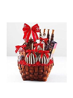 Mrs. Prindable's Grand Festive Caramel Apple Basket