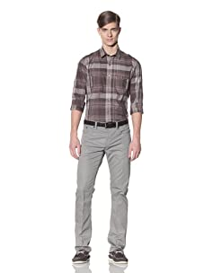 Color Siete Men's Clevelander Five Pocket Pant (Grey)