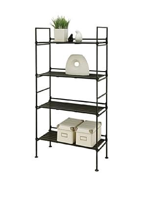 Organize It All Ebonize 4-Tier Shelf