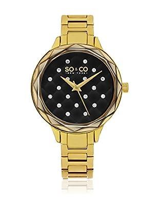 SO & CO New York Uhr mit japanischem Quarzuhrwerk Woman GP16080 38 mm