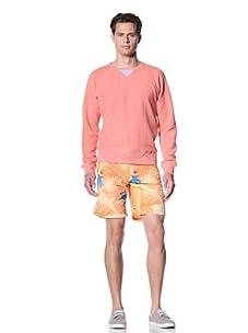 Olasul Men's Reverse Beach Sweatshirt (Red)