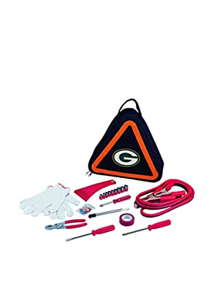 Picnic Time NFL Green Bay Packers Roadside Vehicle Emergency Kit