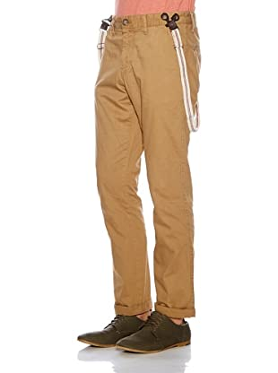 Solid! Pantalón Tirantes (Beige)