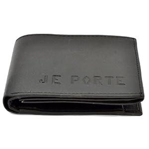Je Porte 370 Korean Black Wallet For Men