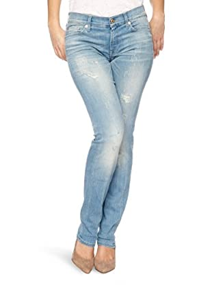 7 for all mankind Jeans Roxanne (blue baby destroyed)