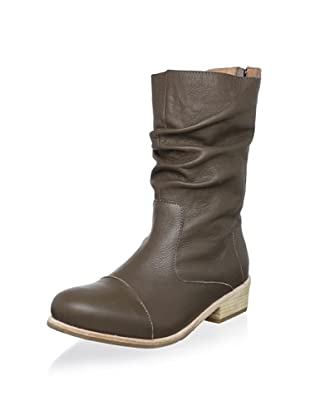 Fiel Women's Cara Welted Ruched Boot (Truffle)