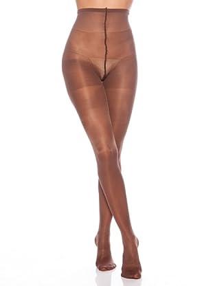 DIM Panty 40 Denier Semi Opaco Generous (Chocolate)