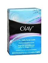 Olay 4-in-1 Daily Facial Cloths, Combination/Oily 66 ea