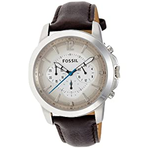 Fossil End of Season Grant Chronograph Multi-Color Dial Men's Watch - FS4533