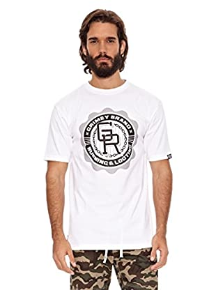 Grimey Wear Camiseta Basic Uniform (Blanco / Negro)