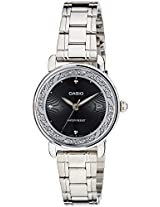 Casio Enticer Analog Black Dial Women's Watch  - LTP-E120D-1ADF (A1040)