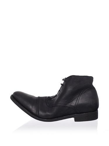 JD Fisk Men's Morrison Boot (Black Leather)