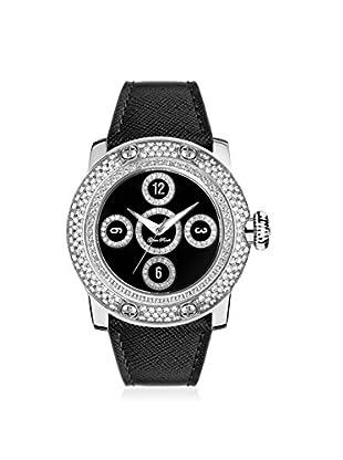 Glam Rock Women's GR10526D Miami Black Genuine Leather Watch