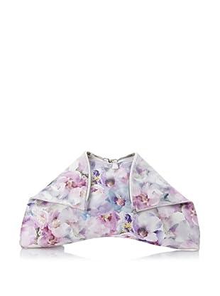 Emily Cho Women's Oversized Folded Clutch, Lilac