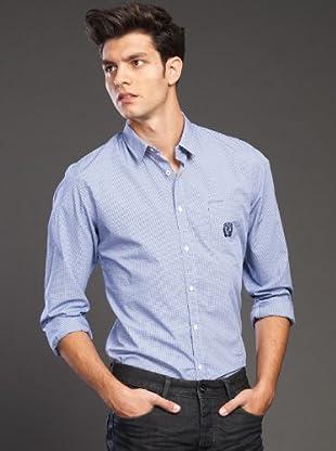 Ikks Camisa Cuadros (Azul)