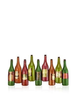 Wine Bottle Wall Plaque
