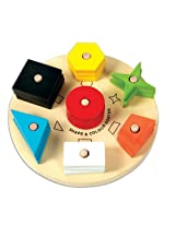 Skillofun Shape and Color Sorter, Multi Color