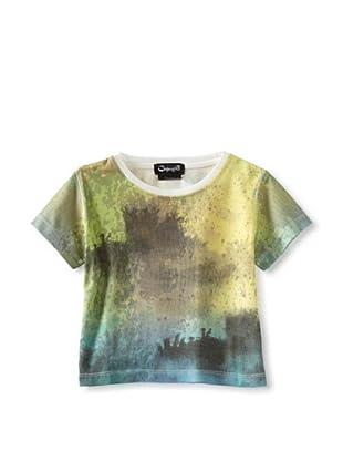 A for Apple Kids Rat T-Shirt (Green)