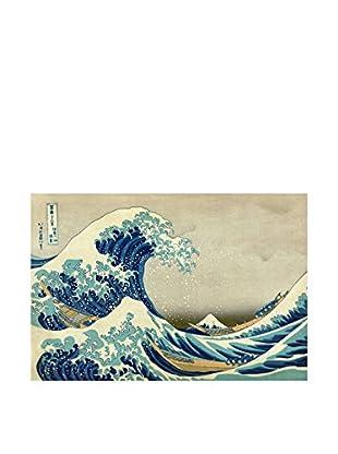LegendArte Panel Decorativo La Gran Ola De Kanagawa de Katsushika Hokusai