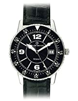 Claude Bernard Analogue Black Dial Men's Watch - 70141 3N NB