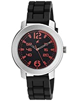 Fastrack Black Dial Men's Analog Watch - 3121SP02