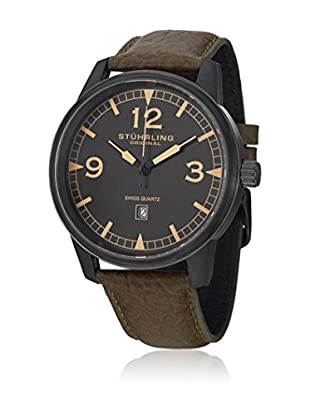 Stührling Original Uhr mit schweizer Quarzuhrwerk Man Aviator Tuskegee Condor 48 mm