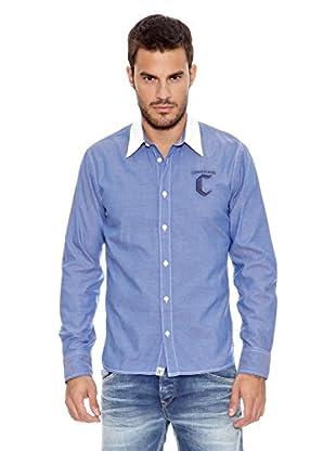 Pepe Jeans London Camisa Hombre Clarendon (Azul)