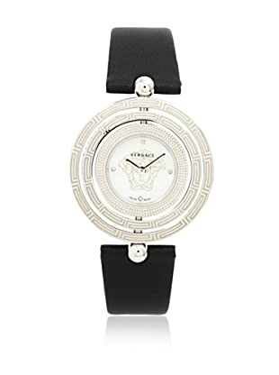 Versace Women's 80Q99SD497 S009 Eon 3 Rings Mother-of-Pearl Dial Black Watch