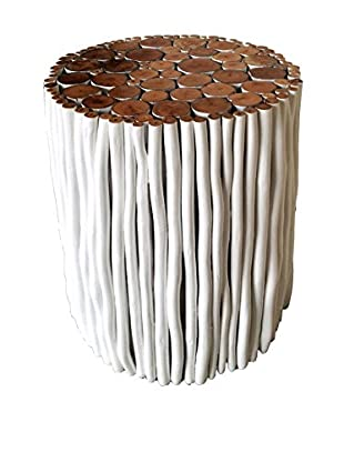 Asian Art Imports White Stick Stool